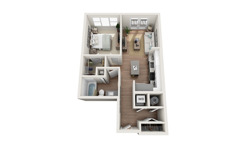 A1 3D Plan